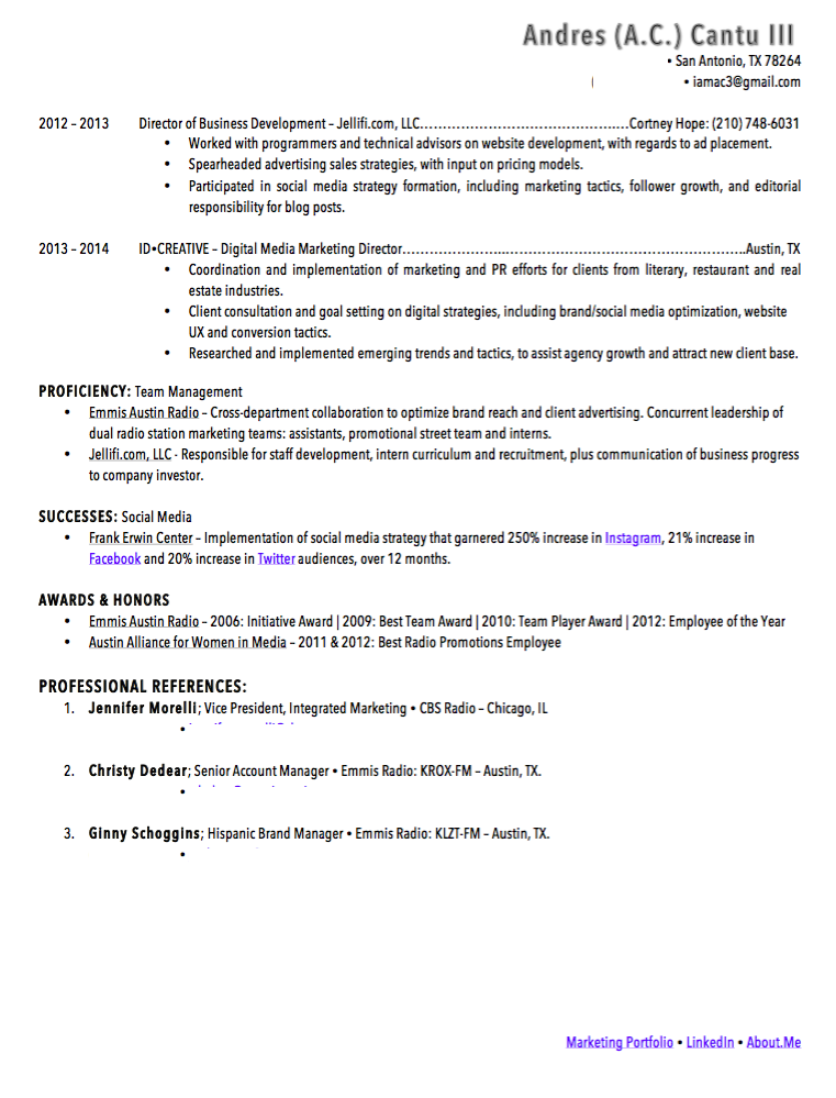 marketing resume samples visualcv resume samples database