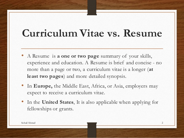 To CV or Not To CV (and other job hunt questions) | This is Us Not Me