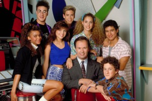 SAVED BY THE BELL Cast Photo
